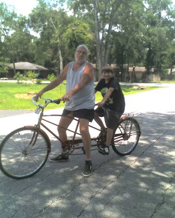 1930s Rollfast Tandem Bicycle For Photo Shoots - $375 (Cypress)