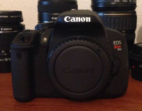 Canon T4i and lenses -  1200  Port Acres