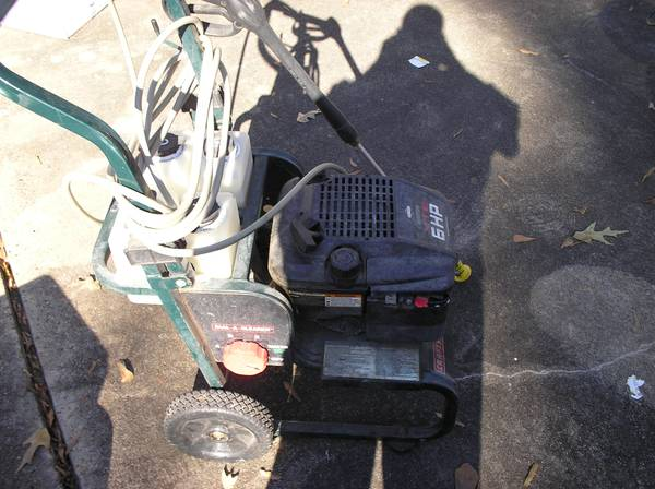 Craftsman 6hp power washer - $200 (Vidor)