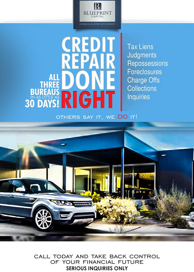 Credit Repair Done Right    Credit Restoration In 30 Days