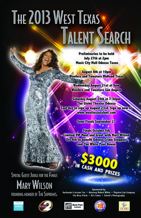 2013 West Texas Talent Search   Odessa Midland San Angelo