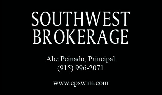 -  1   1ft sup2  - YOUR LAST COMMERCIAL INSURANCE AGENT  Southwest texas