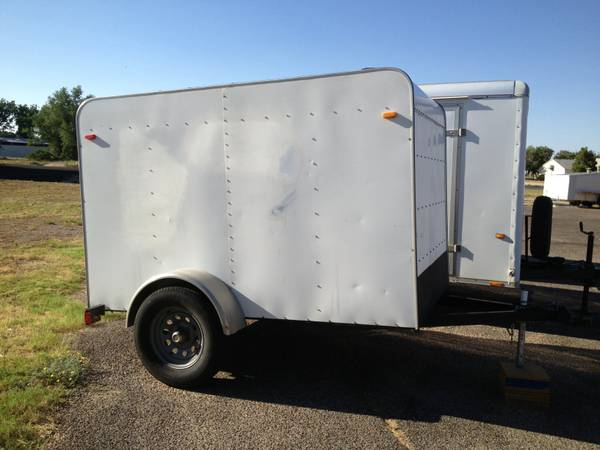 enclosed trailer  andrews