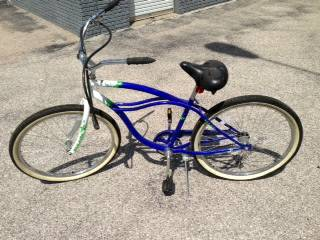 Beach cruiser bicycle for sale OBO -  120