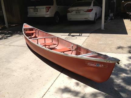17 ft Coleman Canoe - Used in Good Condition - $375 (225 S. Bishop, San Angelo, Texas 76901)