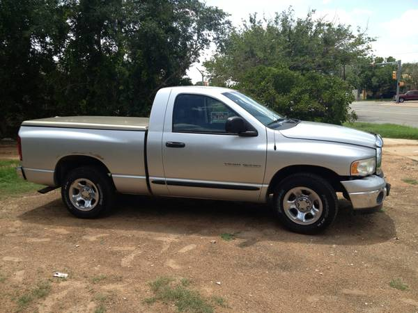 2005 DODGE RAM 1500 ST CLEAN TITLE SINGLE OWNER -  3999  Odessa