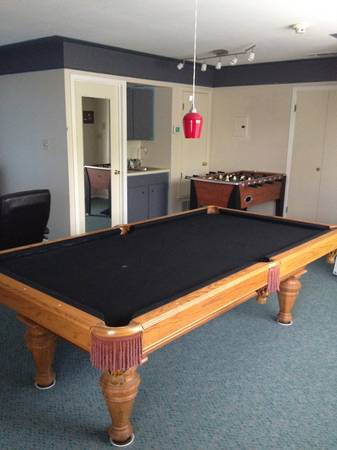 BRUNSWICK CIMARRON 8FT SLATE POOL TABLE  -   x0024 400  Spring Branch