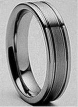 Tungsten Carbide 6MM Mesh Finish Wedding Band Ring -  55  Southwest Tx