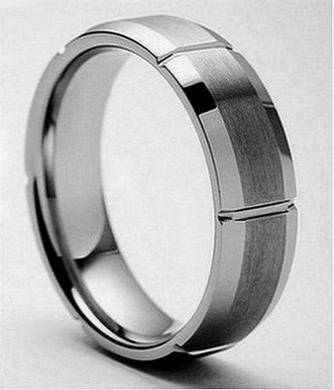 AMP AMP  9608 MAGNIFICENT Stainless Steel WEDDING BANDS -  64  Southwest Tx