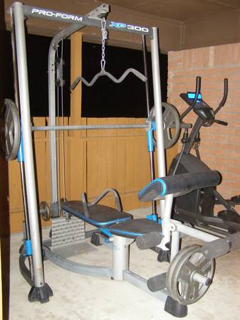 Pro-Form XP 300 Weight Bench with weights -  200  Del Rio  Texas