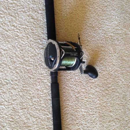 Okuma reel and 7 foot Diawa rod -  80