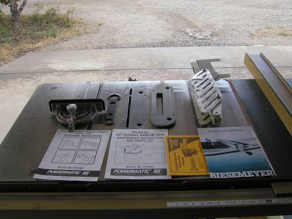 10  powermatic 5HP 1PH table saw -  2550  Edgewood  NM
