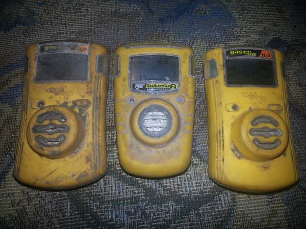 H2S monitors - $60 (west odesss)