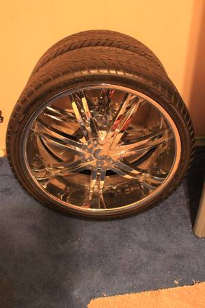26 Inch Rims With New Tires - $1700 (Odessa)