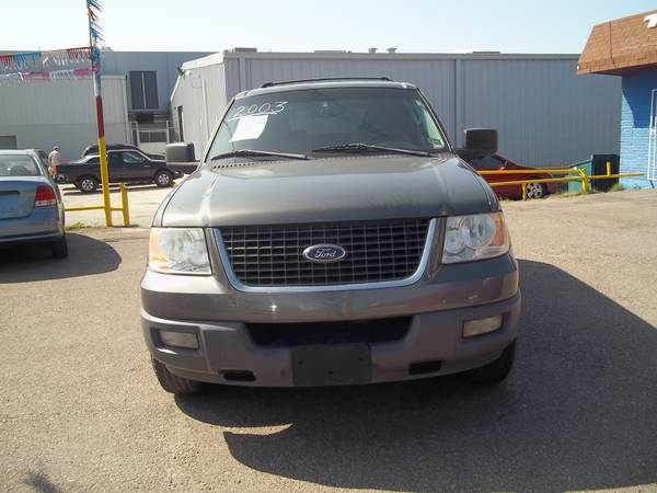 2003 FORD EXPEDICTON XLT GRAY -   x0024 4995  PHARR TX