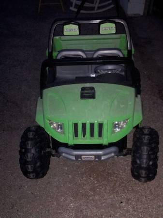 Power Wheels Artic Cat Jeep - $150 (Midland)