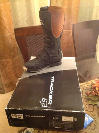 Motocross fox boots sz 10 -   x0024 145  Houston  katy