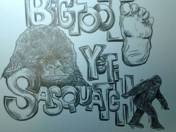 bigfoot sasquatch t shirts -  18