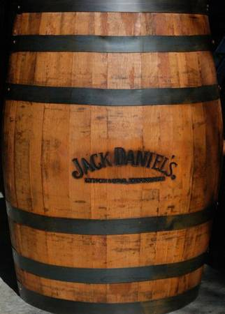 JACK DANIELS WHISKEY BARRELS -  275