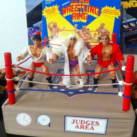 AWA Wrestling Figures from 1980s (Odessa-Midland)