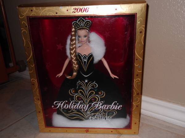 2006 Holiday Barbie by Bob Mackie - $75 (Midland)