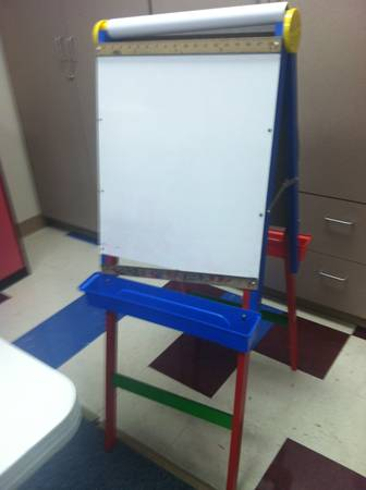 Dry Erase and Chalkboard Art Easel -  20  Midland