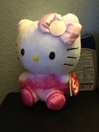 Ty Hello Kitty Plushe -  8  San angelo