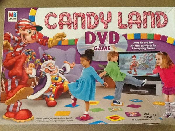 Candy Land DVD Game  Midland