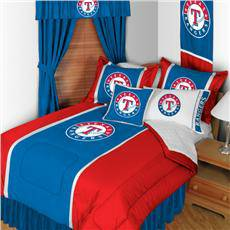 TEXAS RANGERS FULL BED SPREAD -  20  AUSTIN TEXAS