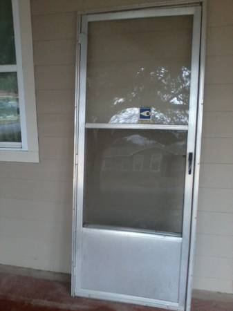 Storm Doors  32   amp  36  silver  36  white  36  bronze-full glass  -  200  New Braunfels  TX