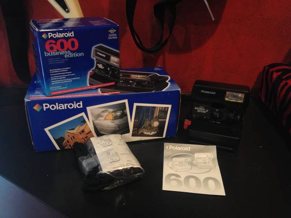 Polaroid Business Instant Camera  In box  Vintage  -  30