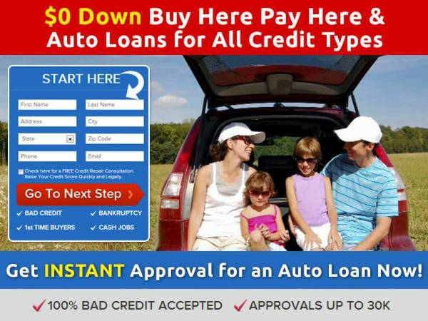 Credit problems  We can help   Auto Financing 4 Bad Credit