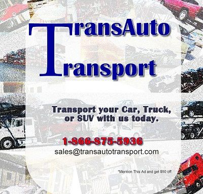 Auto TransportTrans Auto Transport (We transport SUVs, automobiles, m (((Nation Wide (USA)))
