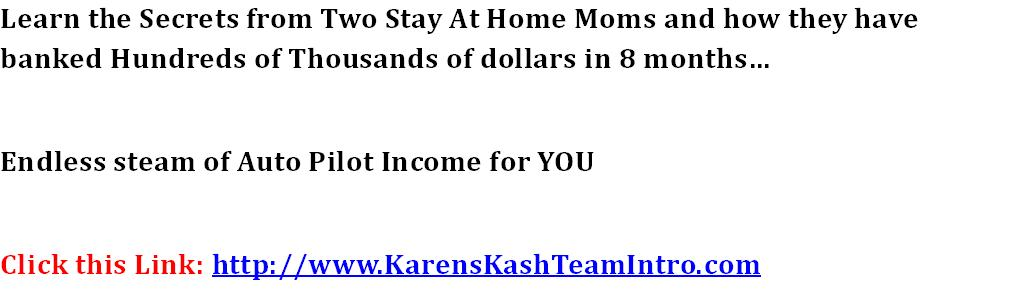 Discover stay at home moms Highly Guarded Traffic  Conversion secrets