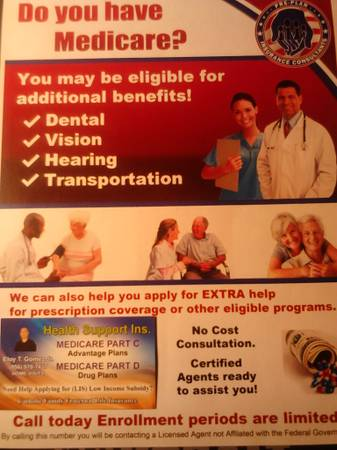 RED BLUE MQMB AND NEED DENTURES PAYS YOUR 20 COPAY  MEDICARE ADVANTAGE PLANS 9707437
