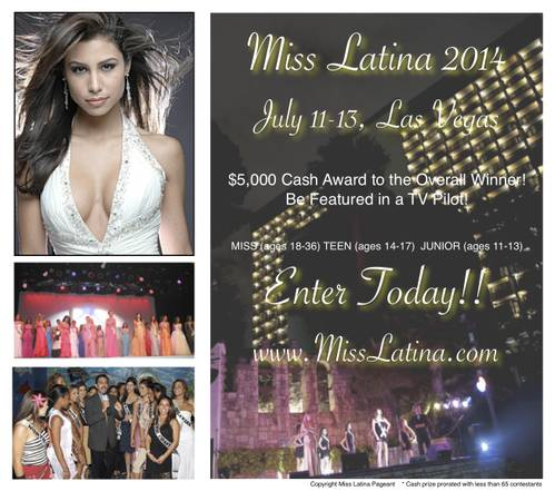 MISS LATINA PAGEANT