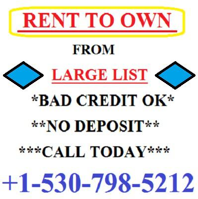 400  4br  Rent to own a home of your choice - large list in brownsville