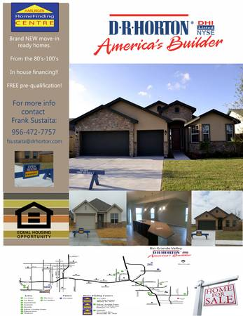 NEW homes for sale (Harlingen)