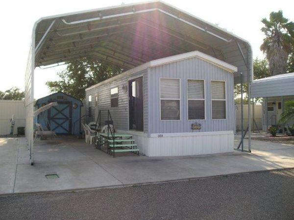 $40000 1br - 400ftsup2 - FURNISHED PARK MODEL WITH EXTRA 50 AMP RV SITE ON GOLF COURSE (EDINBURG EXIT MONTE CRISTO OFF OF 281)