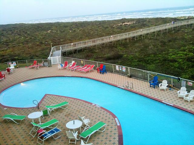 Fabulous Ocean Front Condo on the Beaches of the Texas Gulf Coast at Port Aransas Corpus Christi
