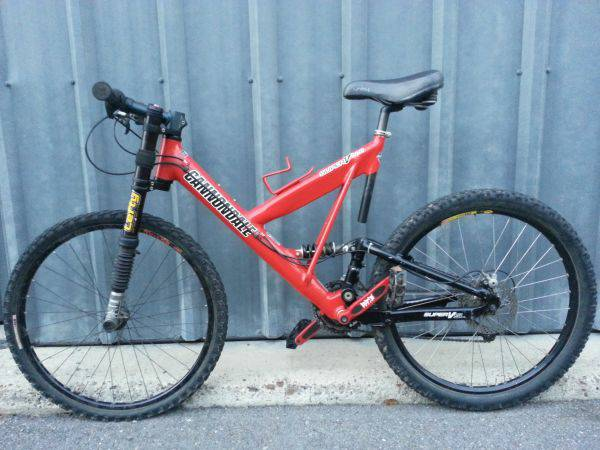 cannondale lefty super v900 - x0024325 (harlingen area)