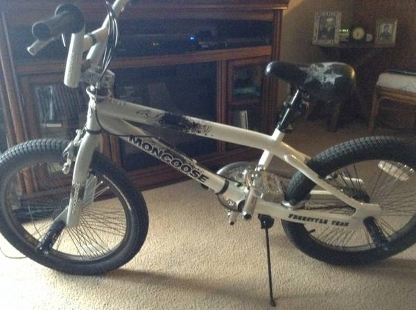 Mongoose BMX 20  White Gray Black  -   x0024 160