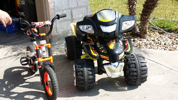 Monster Trax ATV   kids Bike   Wall Projector -   x0024 1  Brownsville