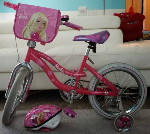Barbie bike for sale -   x0024 55  Brownsville