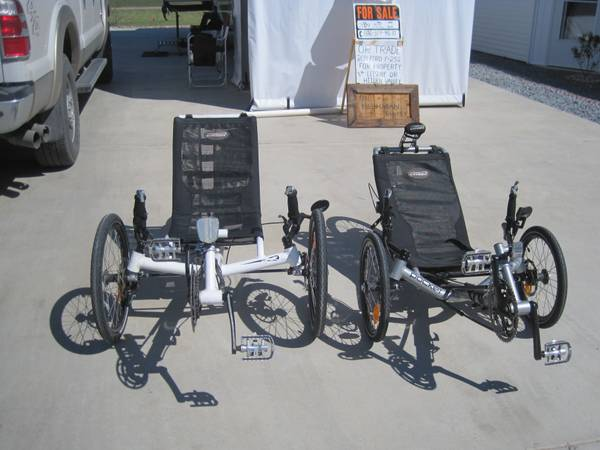 CATRIKE RECUMBRENT BICYCLE - x00241650 (MISSION,TX)