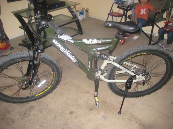 mongoose fireline bike - $175 (brownsville texas)