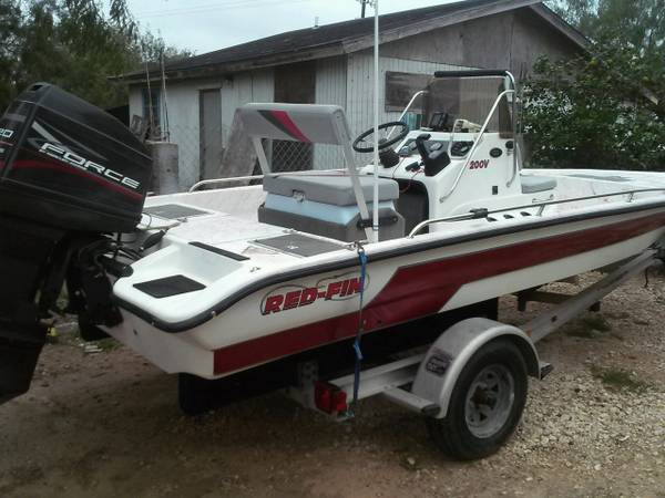 RedFin Boat -   x0024 7500  brownsville tx