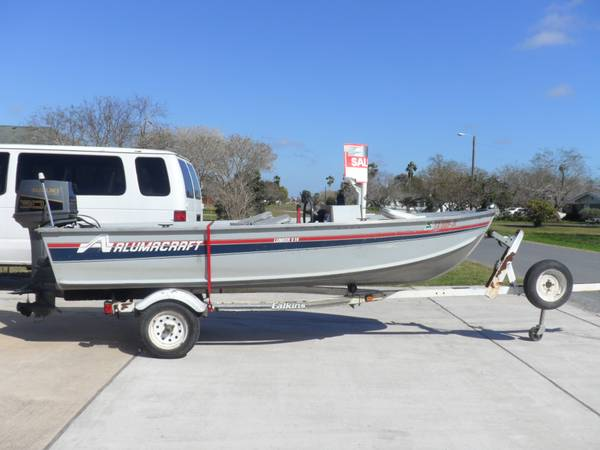 14 foot Alumacraft -   x0024 2750  Laguna Vista