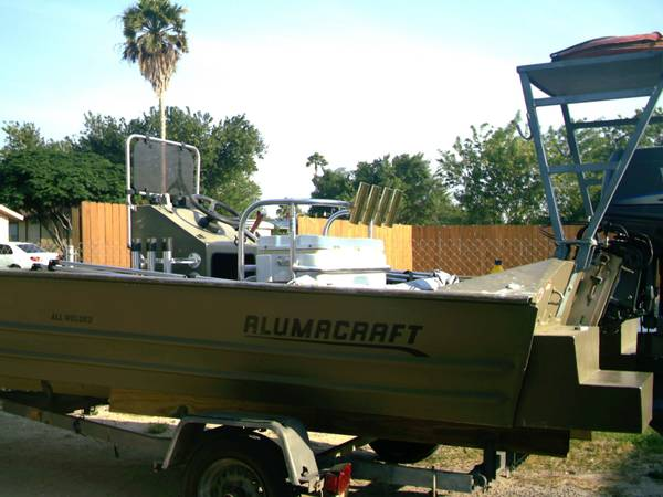 Fishing and poling platform  200   or OBO -   x0024 200  Harlingen