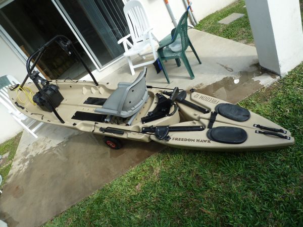 Freedom Hawk Fishing Kayak - $1125 (South Padre Island)